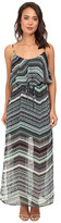 Gabriella Rocha TinaLou Print Chiffon Maxi Dress