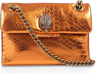 Kurt Geiger Rainbow Shop Mini Kensington Metallic Leather Crossbody Bag