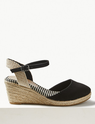 Marks and Spencer Wide Fit Wedge Espadrilles