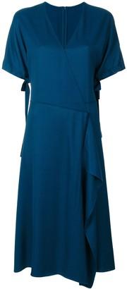 Cédric Charlier Classic Wrap Dress