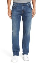 7 For All Mankind 'Straight' Slim Straight Fit Jeans (Nostalgia Soft Hand)