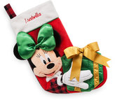 Disney Minnie Mouse Plush Holiday Stocking - Personalizable