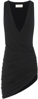Alexandre Vauthier Asymmetric stretch-jersey minidress