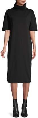 HUGO Nurena Funnel Neck Dress
