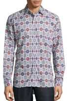 Etro Medallion Printed Hi-Lo Shirt