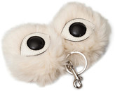 Stella McCartney Eyes Key Ring Fur