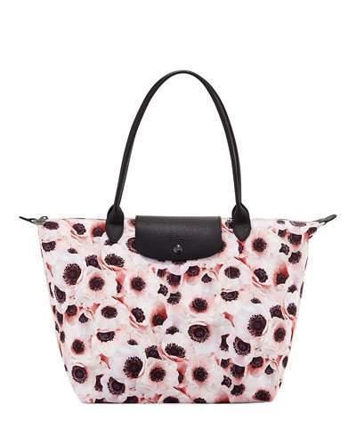 Longchamp Le Pliage Anemone Large Shoulder Tote Bag