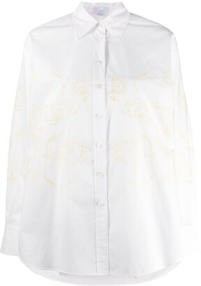 Escada Sport oversized embroidered shirt