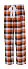 Concepts Sport San Francisco Giants Women's Breakout Plaid Pajama Pants
