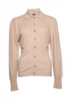 Chanel Camel Cashmere Knitwear