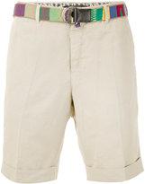 Pt01 classic chino shorts - men - Cotton/Linen/Flax - 46
