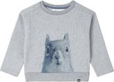 Molo Squirrel cotton-blend sweatshirt 3-24 months