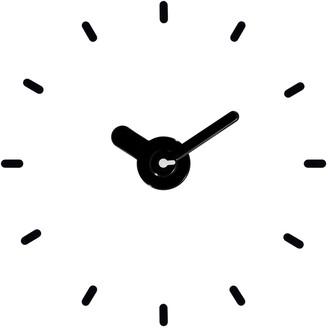 "La Crosse Technology 20-24"" Adjustable Floating Dial Black Quartz Wall Clock"