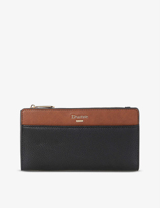 Dune Kalancie colour-block faux-leather purse
