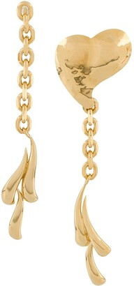 Wouters & Hendrix Long Abstract Earrings