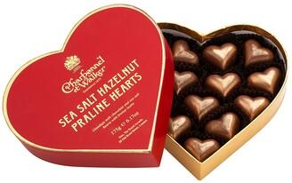 Charbonnel et Walker Sea Salt Hazelnut Praline Chocolate Hearts 175g