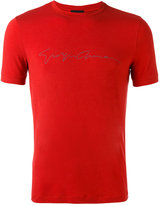 Giorgio Armani slim-fit T-shirt - men - Spandex/Elastane/Viscose - 50