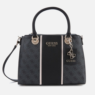 GUESS Women's Cathleen 3 Compartment Satchel