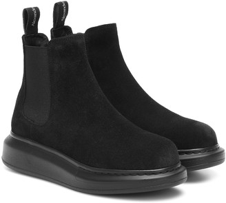 Alexander McQueen Suede ankle boots