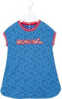 Mi Mi Sol - embroidered top - kids - Cotton/Polyamide - 6 yrs