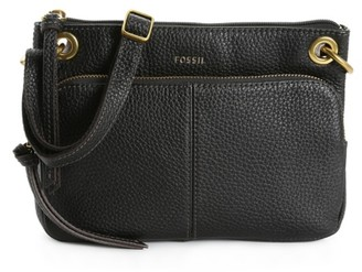 Fossil Karli Leather Crossbody Bag