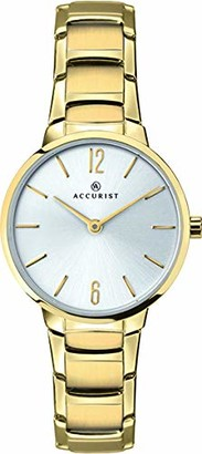 Accurist Womens Analogue Classic Quartz Watch with Stainless Steel Strap 8174