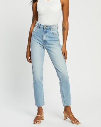 ROLLA'S Women's Blue Slim - Dusters Jeans - Size 24 at The Iconic