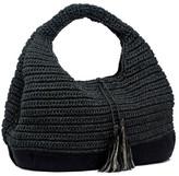 Magid Slouchy Crochet Tassel Hobo Bag