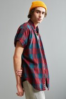 Urban Outfitters Vintage Cap Sleeve Flannel Button-Down Shirt