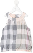 Burberry checkered top - kids - Cotton - 8 yrs