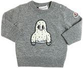 Moncler Wool Sweater W/ Yeti Patch