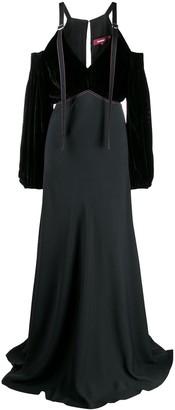 Sies Marjan Cold-Shoulder Evening Dress