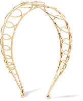 LELET NY - Infinity Gold-plated Headband - one size