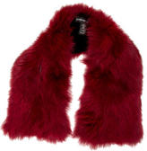 Adrienne Landau Red Fox Fur Stole