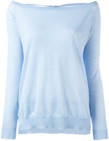P.A.R.O.S.H. open-back sweater - women - Cashmere - XS