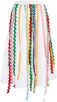 Mira Mikati Wave Ribbon Skirt