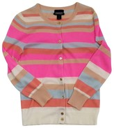 J.Crew Collection Striped Cashmere Cardigan