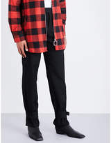 J.w. Anderson Cuff-strap Wool Trousers