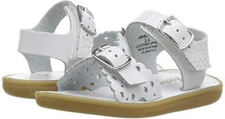 FootMates Ariel (Infant/Toddler/Little Kid) (White) Girls Shoes