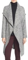 Bebe Women's Tweed Wrap Coat