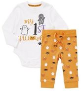 F&F My First Halloween Bodysuit and Leggings Set, Newborn Unisex