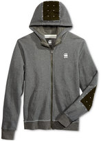 G Star Men's Rastr Full-Zip Cotton Hoodie