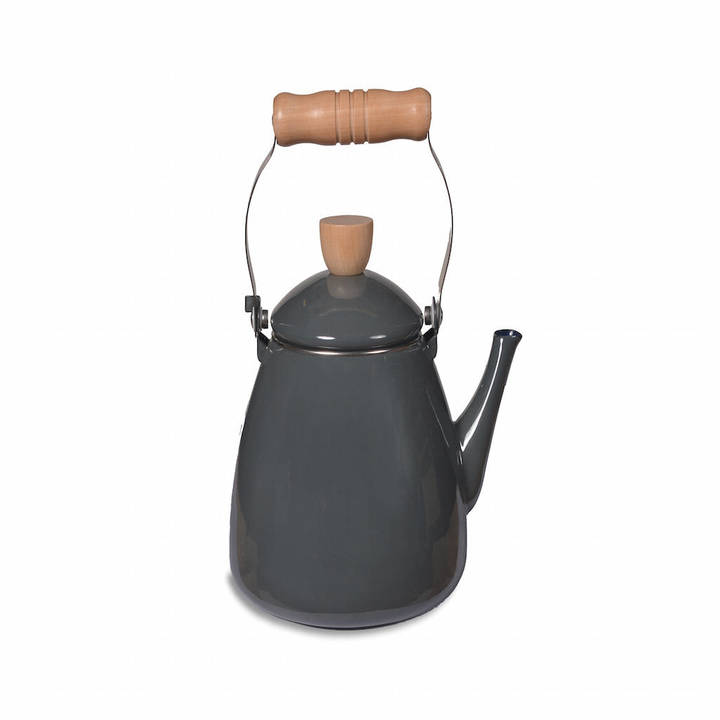 The Forest & Co Grey Enamel Stove Kettle