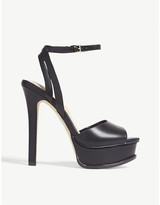 Aldo Black Heel Strap Sandals For Women ShopStyle Australia