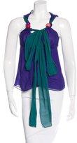 Etro Silk Embellished Top