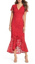 Shoshanna Women's Floral Guipure High/low Gown