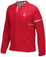 adidas Men's Houston Rockets On-Court Henley Jacket