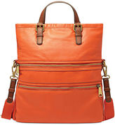 Fossil Explorer Leather Tote