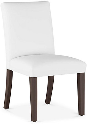 One Kings Lane Erin Pleated Side Chair - White