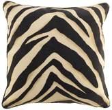 Eichholtz Zebra Cushion Brown Cream Cotton Linen 60x60cm